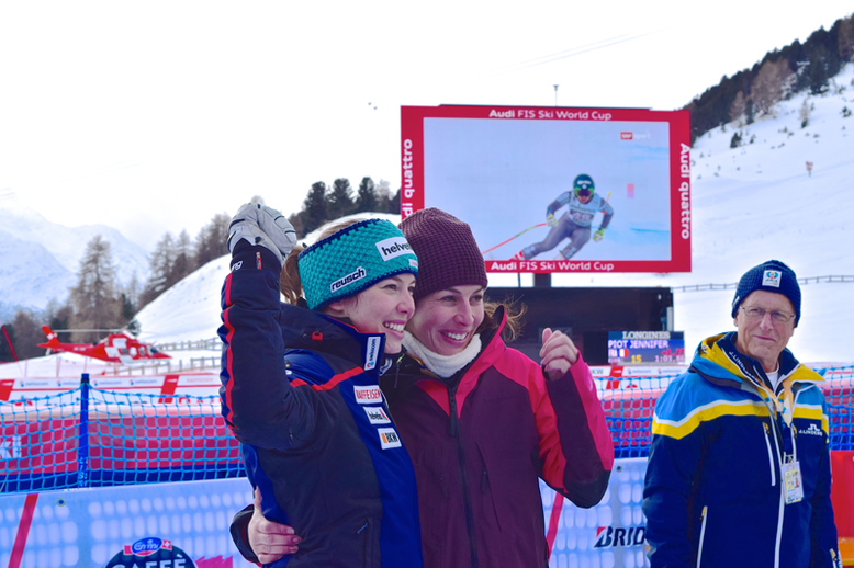 Ski World Cup in St. Moritz, Switzerland - the Gisin Sisters