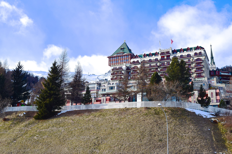 Ski World Cup in St. Moritz, Switzerland - One of the Luxury Hotels in St. Moritz
