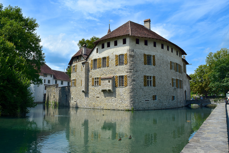 The Most Beautiful Castles in Switzerland - the Hallwyl Castle