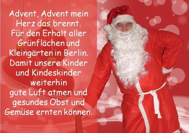 Danke Alban, für dieses Bild, siehst schick aus als Weihnachtsmann:-)