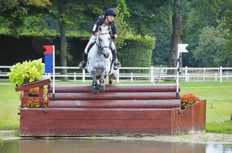 Travail et valorisation du cheval de CCE avec Fanny Lelièvre, écurie les Rouillons, 89 Sens