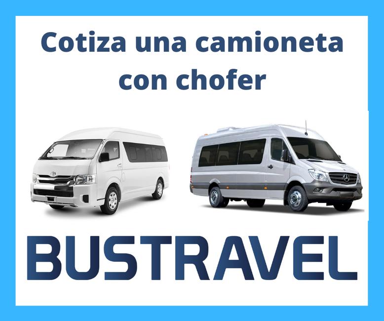 Renta de camionetas con chofer en CDMX Bustravel