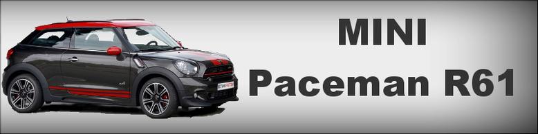 MINI Paceman R61 Tuning