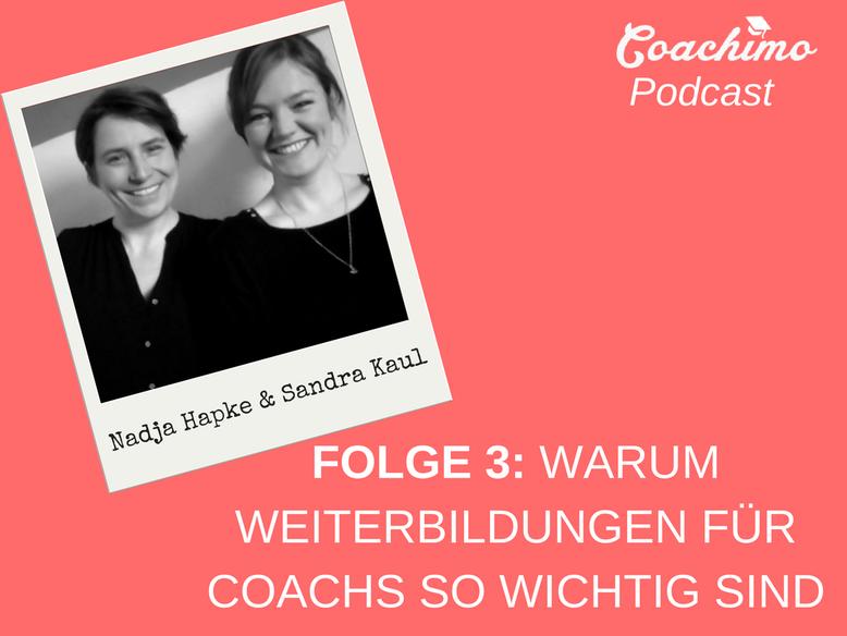 Coachimo Podcast Folge 3 - Sandra Kaul und Nadja Hapke
