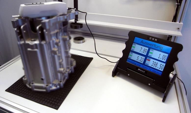 Handysurf E35-B am Qualitätsdatensystem MECC