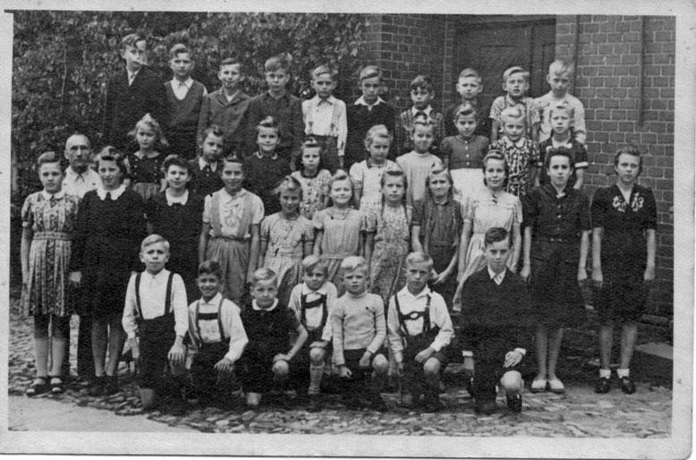 Die Schüler von Klinze im Jahr 1949
