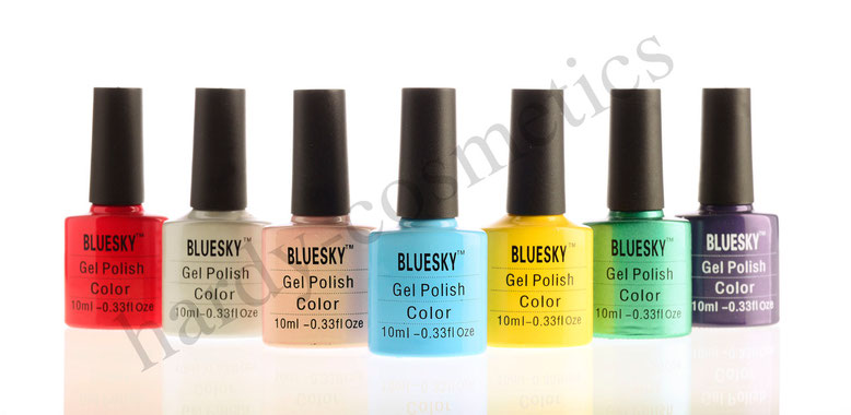 Favorit Bluesky UV Nagellack /Shellac 10 ml -14 Tage Haltbar - hardy  KP91