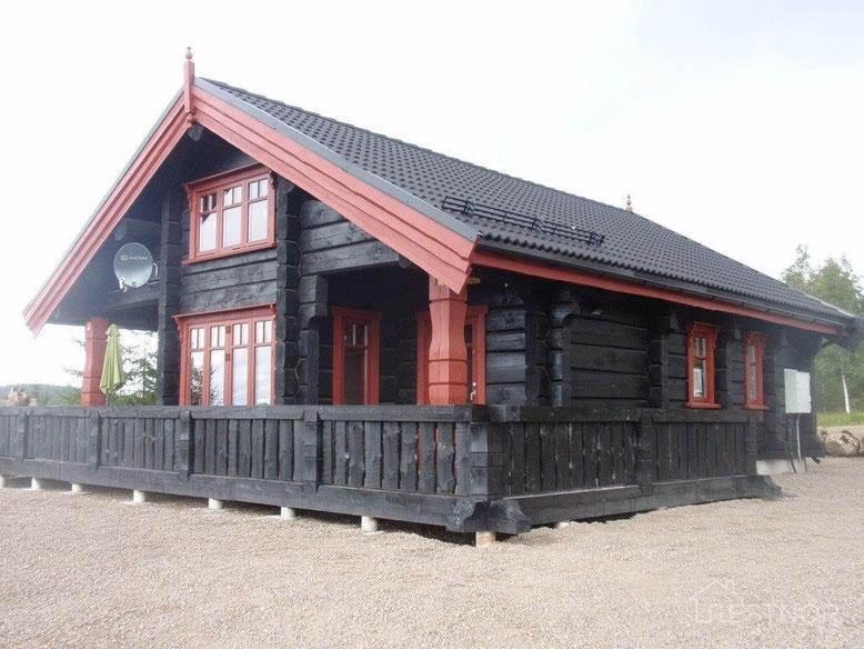 норвежская рубка, норвежский дом