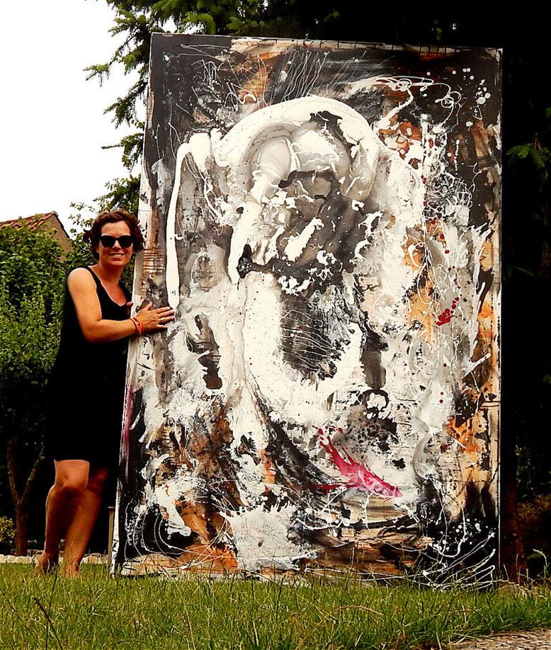 abstrakte grosse Bilder kaufen