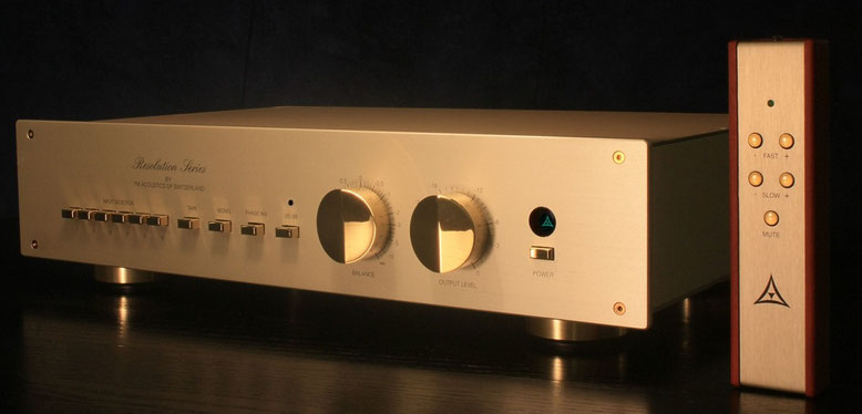 Success unequalled: the FM 266-MKII R true balanced Line Stage / Preamplifier