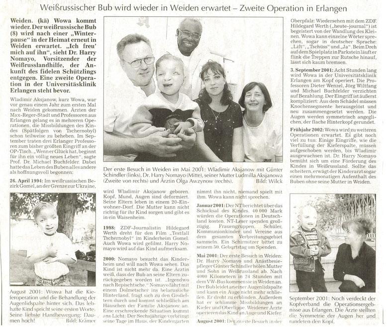 Zeitungsbericht 29.05.2002