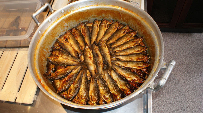 岐阜美濃加茂の魚徳の甘露煮