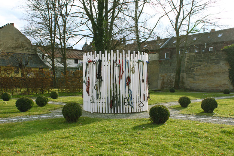 """Rondeau"" - 2013 - Situation: Garten des Ellrodtschen Palais, Bayreuth"