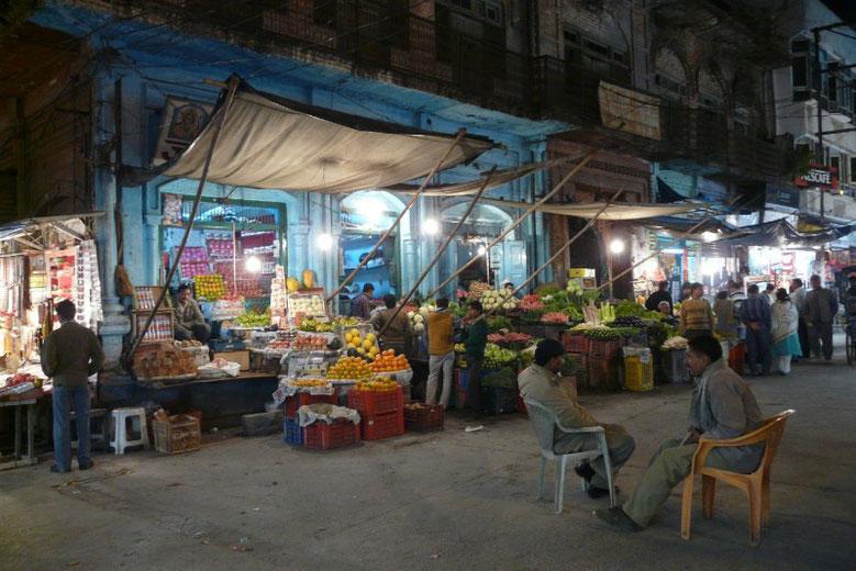 La police cherche qui a volé l'orange du marchand, à Haridwar