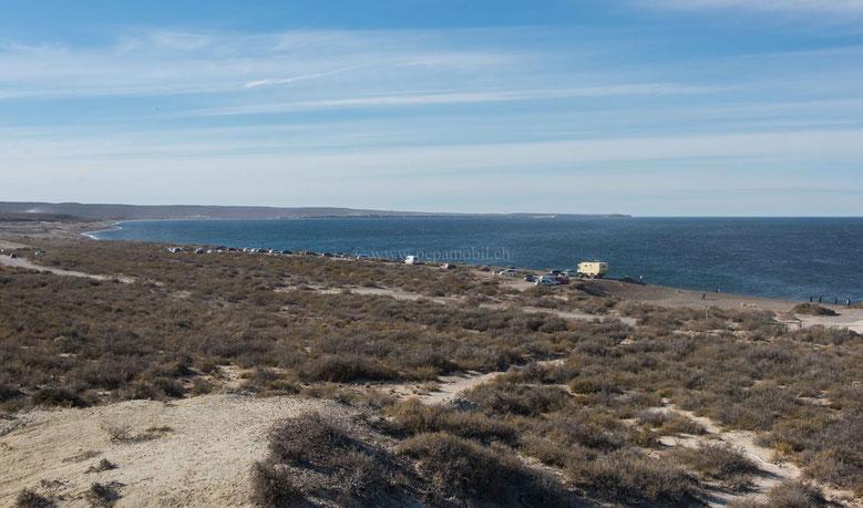 Pepamobil Playa Las Canteras Puerto Madryn Argentinirn