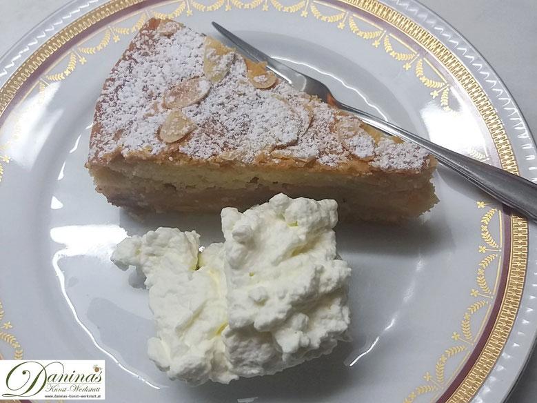 Gedeckter Apfelkuchen mit Mürbteig - Konditor-Rezept by Daninas Dad.