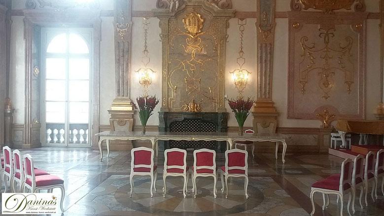 Schloss Mirabell Marmorsaal - einer der schönsten Trauungssäle der Welt