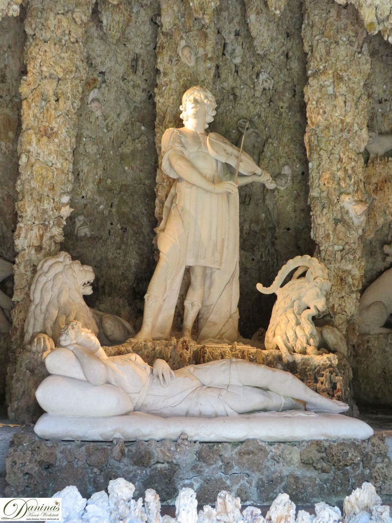 Orpheusgrotte - Hellbrunner Wasserspiele in Salzburg