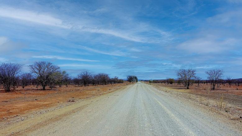 Piste namibienne, Namibie
