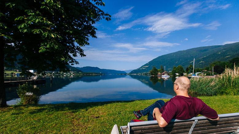 Entschleunigung auf dem Slow Trail am Ossiacher See in Kärnten