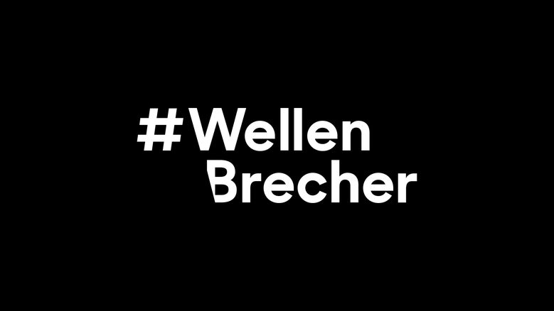 Visual Identity zur Kampagne #Wellenbrecher