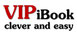 Logo VIPiBook - Website Erstellung und SEO