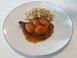 Schweinskotelett mit Aprikosen