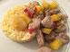 Schweinegeschnetzeltes mit Ananas