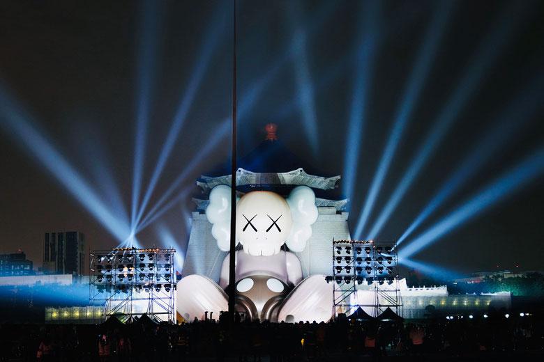 2019年1月に台北国立中正記念堂に設置されたコンパニオン。