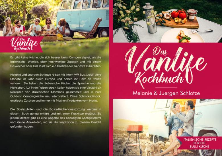 Das Vanlife Kochbuch von Melanie & Juergen Schlotze