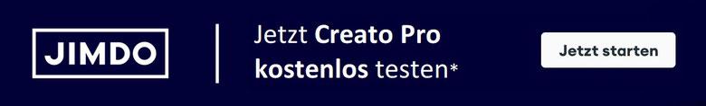 Teste den Jimdo Creator in der Testversion noch heute!