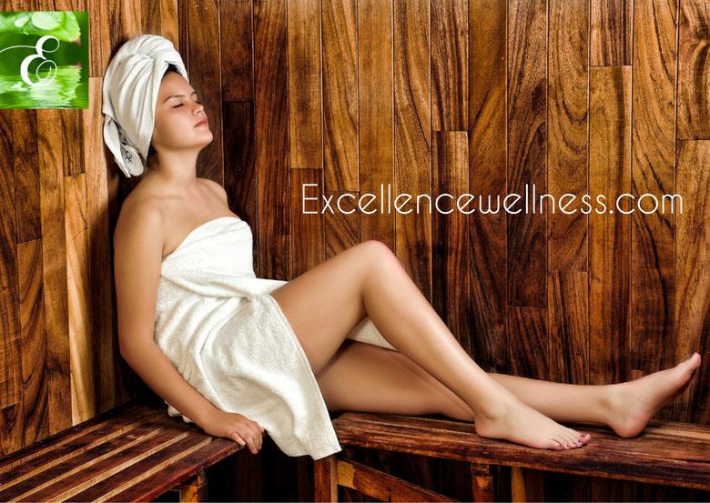 Spa St Jean de Luz, Institut de Massages Bien-être avec Sauna et produits exclusivement Bio. Excellencewellness.com