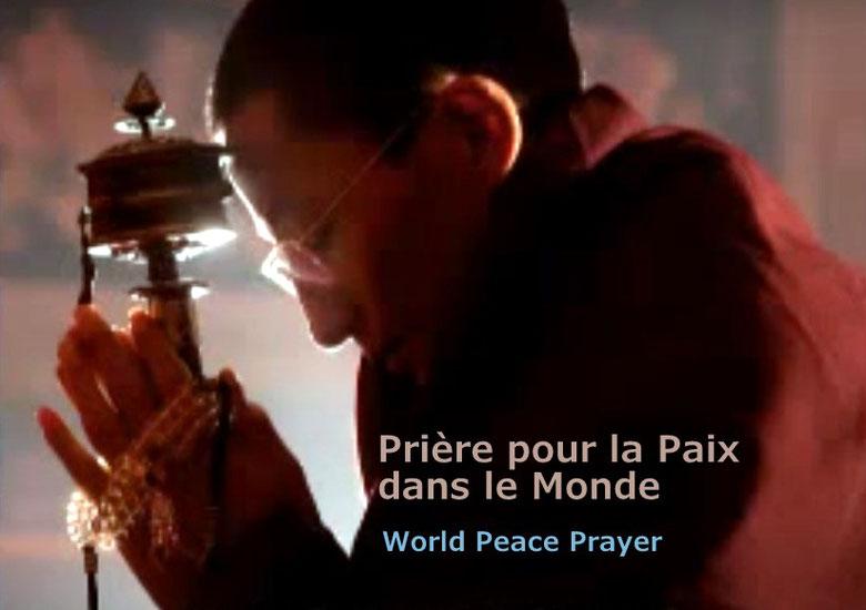Prière pour la paix dans le monde