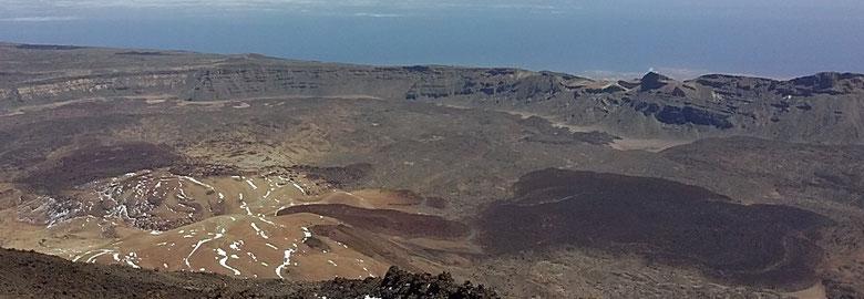 Corro de los Volcanes, en Lotavia / Las Cañadas del Teide.