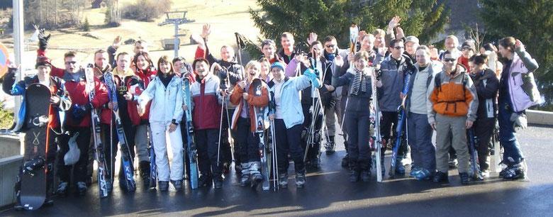 Voyage groupe au ski - Schuss.eu