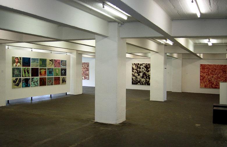 """Ausstellung """"Dyfuzja /Diffusion"""" in der Galerie im Stammelbach-Speicher, Hildesheim, September 2009"""