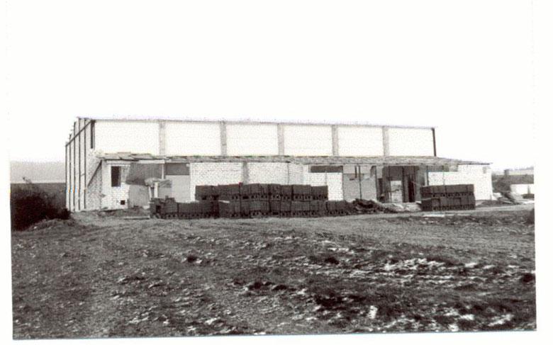 Richtfest Sporthalle 8.12.1978