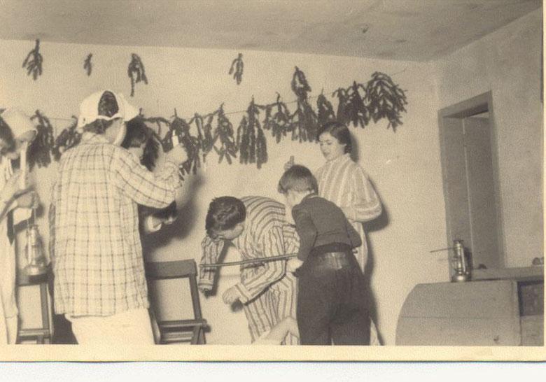 Weihnachtsfeier 1956