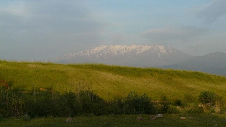 Plaine Ouzbek avant d'arriver a Tashkent