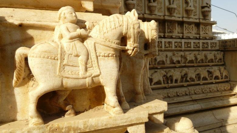 Fines décoration des temples