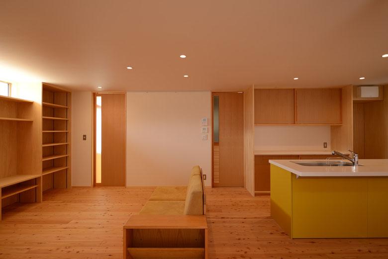 安曇野市 長野県 松本市 建築家 news設計室 丸山和男 大町市 住宅設計 小住宅 猫と暮らす小さな家