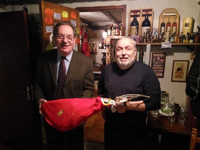 Mr Alain Rodet en visite aux etablissement Michel IBANES
