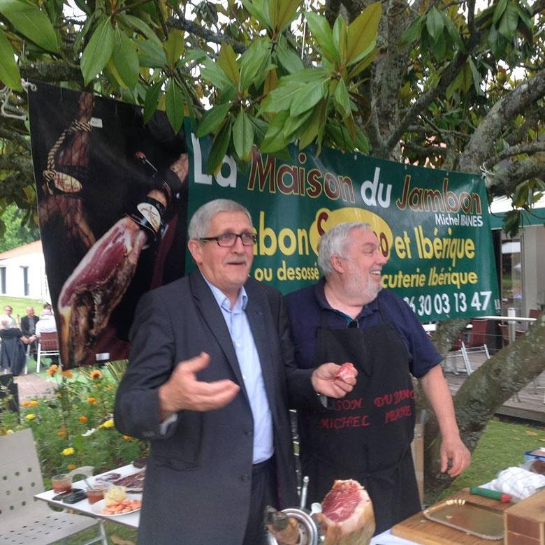 2015 Evenementiel au Restaurant Le Green Saint-Lazart Feytiat en Pésense de Mr Le Maire de Limoges Emile Roger Lombertie