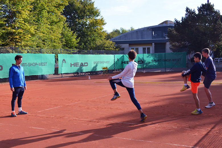 THCAB Tennis Jugendarbeit