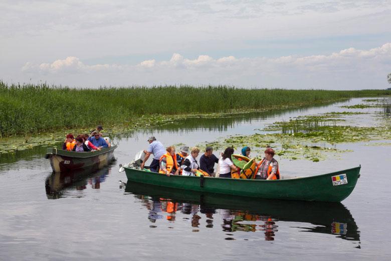 Į Dunojaus deltą atvyksta ornitologų, mokslininkų ir turistų / Foto: Kristina Stalnionytė