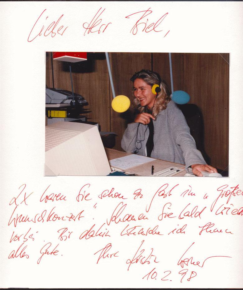 Nr. 51  Kerstin Werner, Hörfunkmoderatorien