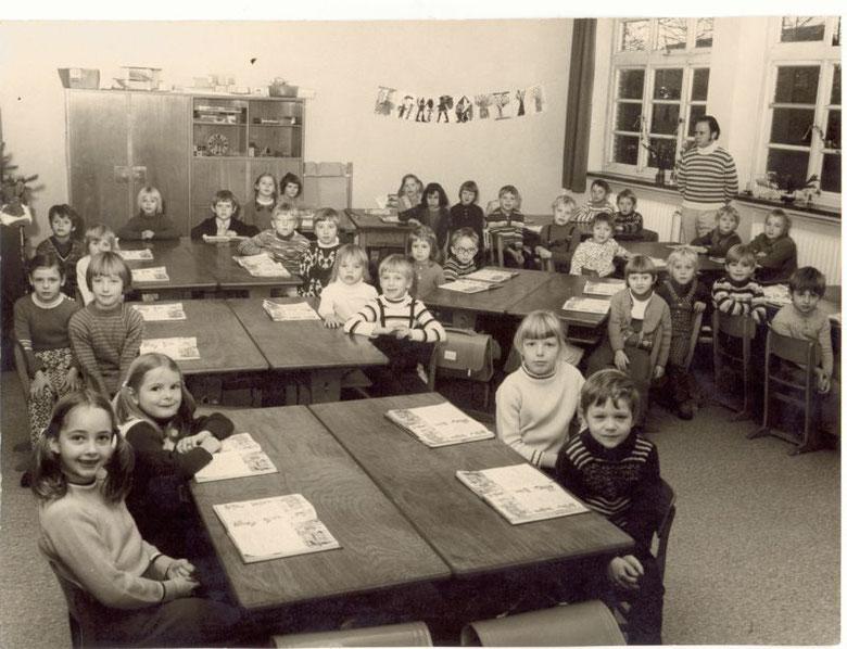 Papenburg Klasse 1c Schuljahr 1972/73