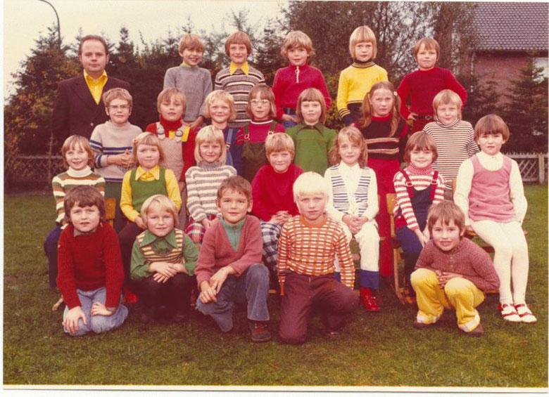 Papenburg Klasse 1c Schuljahr 74/75