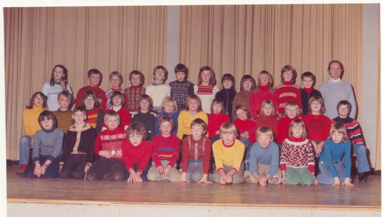 Klasse 4c Schuljahr 1977/78