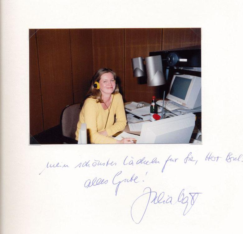 Nr. 53 Julia Vogt, Hörfunkmoderatorin